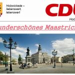 Treffen zur CDU-Bürgerfahrt auf dem Marktplatz
