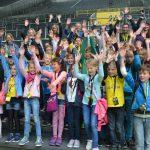 Paul-Gerhardt-Schüler erkunden Deutschlands Fußballtempel