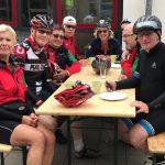 Radsportler des HSC bei Tuchmacher-RTF auf Trainingsfahrt