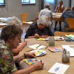 Kreis lädt vor allem Senioren ein: Ein Kunstnachmittag mit Josef Scharl
