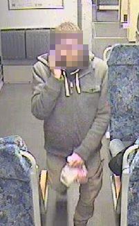Der Gesuchte auf dem Foto ist identifiziert, Auf Wunsch der Polizei haben wir den gesuchten nachträglich unkenntlich gemacht.