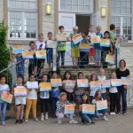 Pädagogik mit dem Pinsel: Holzwickeder Kinder erkunden Werk von Josef Scharl