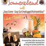 "Sommerabend des DBC mit dem Duo ""Easy Come -Easy Go"""