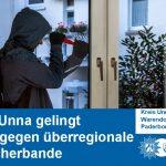 Polizei Unna gelingt Schlag gegen überregionale Einbrecherbande