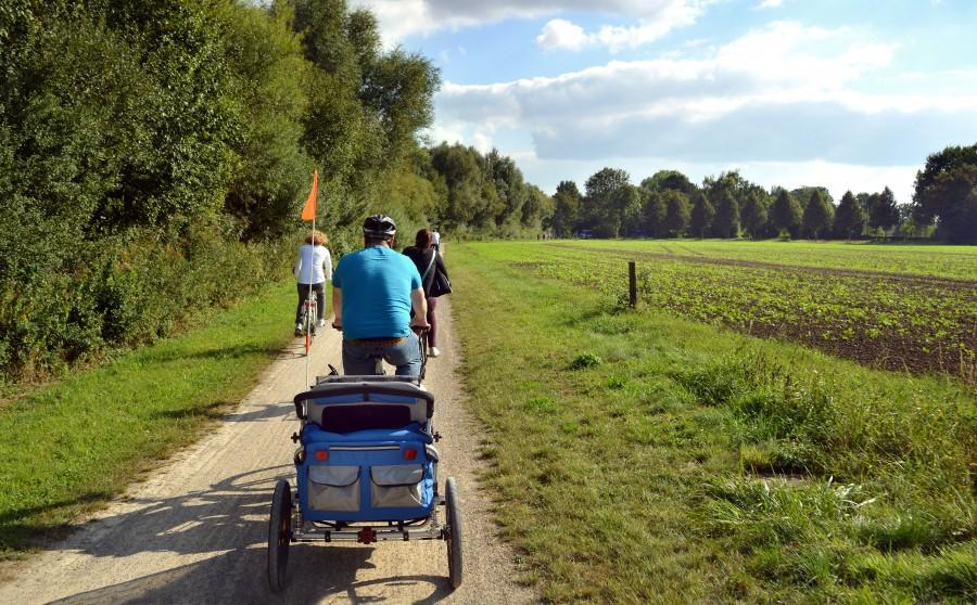 Mit Kind und Kegel im Kreis Unna unterwegs. Foto: Sebastian Hellmann – Kreis Unna