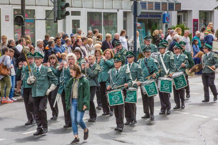 Bürgerschützenverein Festumzug 2017
