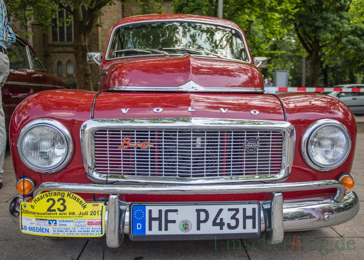 """Ein schicker Volvo PV 544 Sport, Bj. 1965, 1.775 ccm, 4 Zyl., 80 PS , auch als """"Buckel-Volvo"""" bekannt. (Foto: P. Gräber - Emscherblog.de)"""