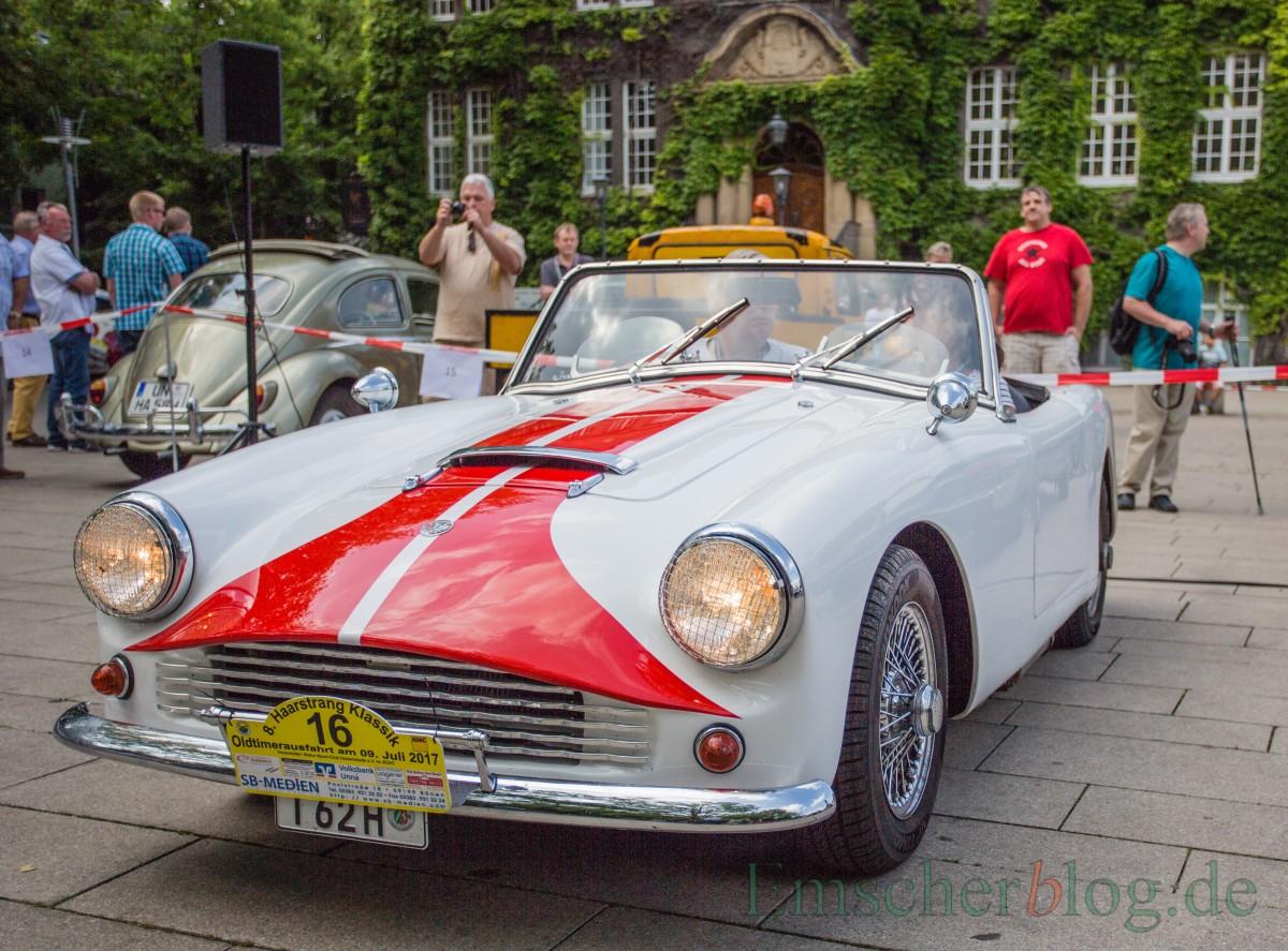 Typisch englisch und kernig: der Turner MK II, Bj. 1962, 1.700 ccm, 4 Zyl. 140 PS. (Foto: P. Gräber - Emscherblog.de)