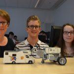 Sommerferienkurs: Engagierter Nachwuchs programmiert Abschlepp-Roboter