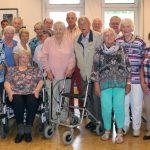 Trägerverein begrüßt 21 Mitglieder zur Geburtstagsnachfeier