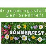 Trägerverein lädt zum Sommerfest im Seniorentreff ein