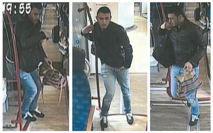 Wer kennt diesen Mann, der am 23. April eine Handtasche im RB 59 zwischen Unna und Holzwickede gestohlen haben soll. (Fotos: Polizei)
