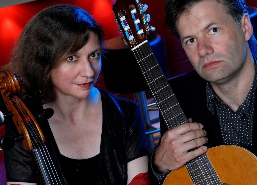 Das Duo Casals gastiert am kommenden Sonntag in der ev. Kirche Opherdicke. (Foto: Agentur)
