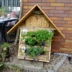 Workshop zum Bau einer Bienen-Tankstelle
