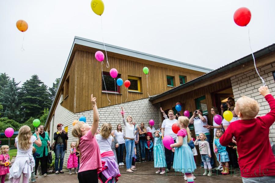 """Der Förderverein der DRK-Kita """"Hokuspokus"""" veranstaltet einen Trödelmarkt rund ums Kind. (Foto: P. Gräber - Emscherblog)"""