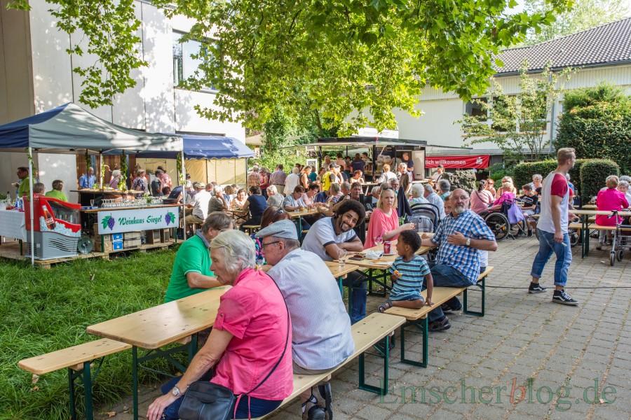 Die Liebfrauengemeinde lädt zu ihrem dreitägigen 50. Pfarrfest am Freitagabend ein. (Foto. P. Gräber - Emscherblog.de)