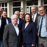 Ministerin Andrea Nahles: Programm Soziale Teilhabe wird im Kreis Unna top umgesetzt