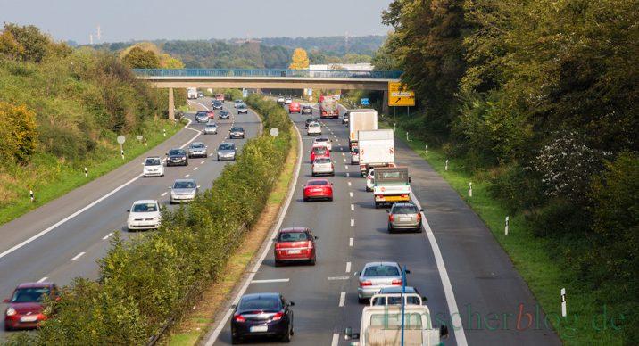 Der sechsspurige Ausbau der B1/A40 zwischen Dortmund und Unnaer Kreuz kann beginnen. (Foto: P. Gräber - Emscherblog.de)