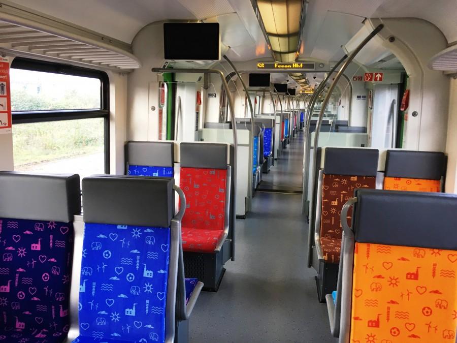 Auch der Innenbereich der von Keolis übernommenen Züge wird aufwändig umgestaltet. (Foto: VRR)