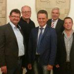 CDU-Fraktion mit neugewähltem Vorstand