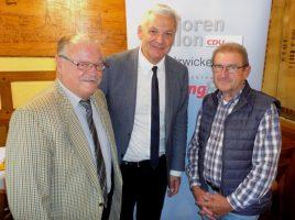Manfred Mische, Hubert Hüppe, Willy Dorna. (Foto SU Holzwickede)