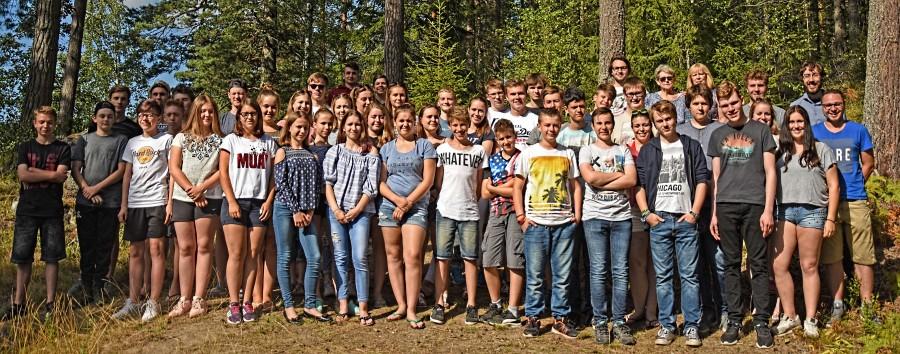 Die Teilnehmer der Schwedenfreizeit. (Foto: privat)