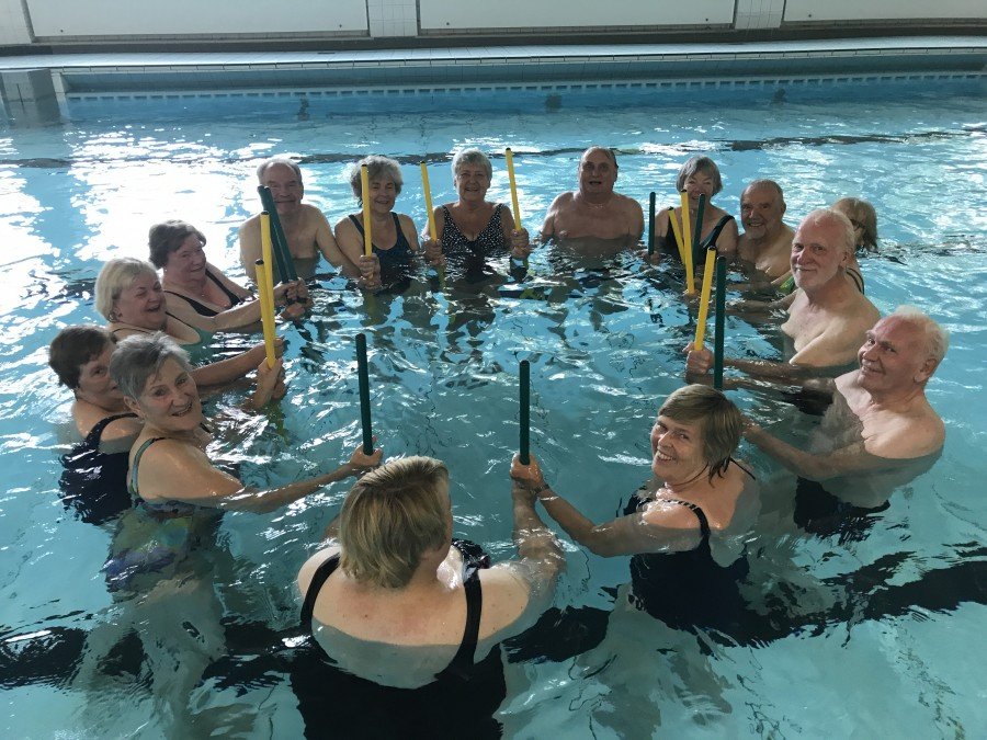 HSC Wassergymnastik in der Kleinschwimmhalle. (Foto: privat)