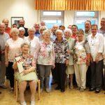 Trägerverein feierte 64. Geburtstagsnachfeier im Seniorentreff
