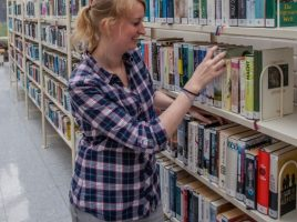 Silke Becker, Bücherei