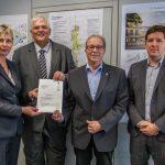 Antrittsbesuch von RP Hans-Josef Vogel: 438.000 Euro für aktive Gemeindemitte