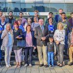 Feierstunde zur Einbürgerung: Dezernent Dirk Wigant gratuliert