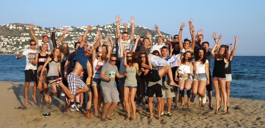 Die bisher letzte Freizeit der Ev. Jugend in Spanien fand 2016 statt: Die Jugendlichen hatten ihren Spaß. (Foto: privat)