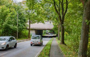 Bis Ende 2019 wird die A1-Brücke über die Holzwickeder Straße (K29) neu gebaut. Über das Bauprojekt informierte Straßen NRW heute in einer Bürgerversammlung. (Foto: P. Gräber - Emscherblog.de)
