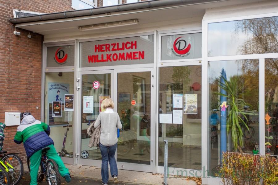 Lädt nächste Woche interessierte Eltern und Kinder zum Unterrichtsbesuch ein: die Dudenrothschule. (Foto: P. Gräber - Emscherblog.de)