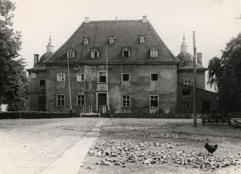 Haus Opherdicke um das Jahr 1938 herum. (Foto: Archiv Kreis Unna)