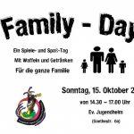 Family Day im evangelischen Jugendheim