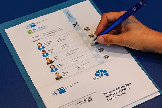 Noch bis zum 9. November haben die Unternehmen Zeit, ihre Stimme bei den Wahlen zur Vollversammlung der IHK zu Dortmund abzugeben. (Foto: IHK zu Dortmund - Oliver Schaper)