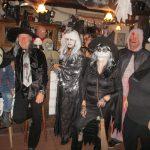 Ballhaus eine Geisterbahn bei Halloween-Party
