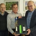 HSC gratuliert Otto Korinth zum 70.
