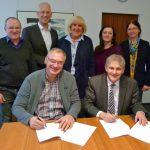 Kontaktstellen für psychisch Kranke: Kreis erneuert Vereinbarung mit Trägern