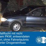 Filmreife Verkehrsunfallflucht in Holzwickede: Pärchen festgenommen