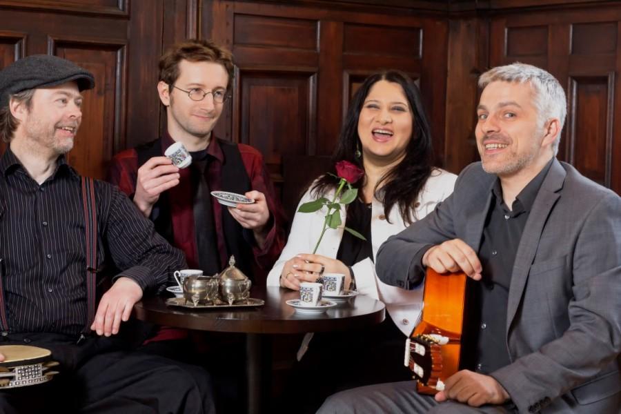 Die Band Cicinatela hat gute Laune – und will diese auch auf die Bühne bringen. (Foto: Maik Reishaus)