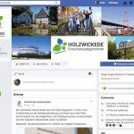 Gemeinde Holzwickede mit eigener Seite bei Facebook präsent