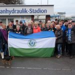 Wetter kein Hindernis:  Über 80 HSC-Wanderer kamen zum Hof Riedel in Hengsen
