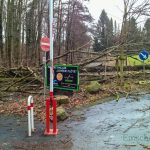 Steinbruchstraße bleibt weiterhin gesperrt