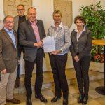Haushalt 2018 der Gemeinde Holzwickede vorbildlich für ganzen Kreis