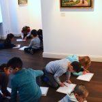Museumspädagogik auf Haus Opherdicke: Schüler lernen vom Meister