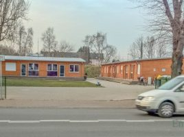 Die neuen Flüchtlingsunterkünfte an der Bahnhofstraße 11 und 11a weisen erhebliche Baumängel auf. (Foto: P. Gräber - Emscherblog.de)