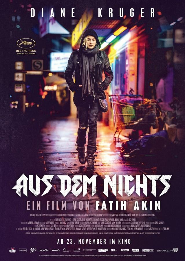 """Wird am 28. Februar und am 4. März in der VHS-reihe gezeigt: Fatih Akins preisgekrönter Film """"Aus dem Nichts""""."""