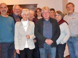 Der neue Vorstand des GEW Ortsverbandes nach der Wahl in den Opherdicker Schloßstuben. (Foto: privat)